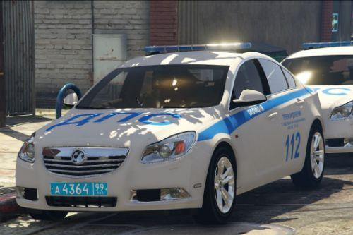 Russian Police Vauxhall Insignia