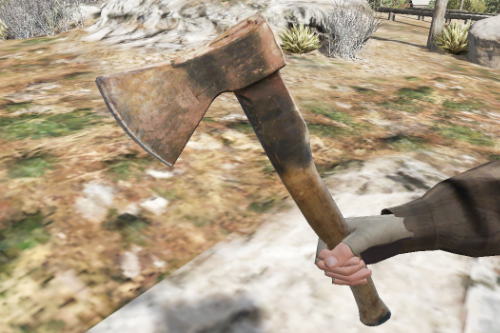Rusty Axe [Replace]
