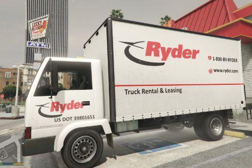 Ryder Truck Rental Izusu Box Truck