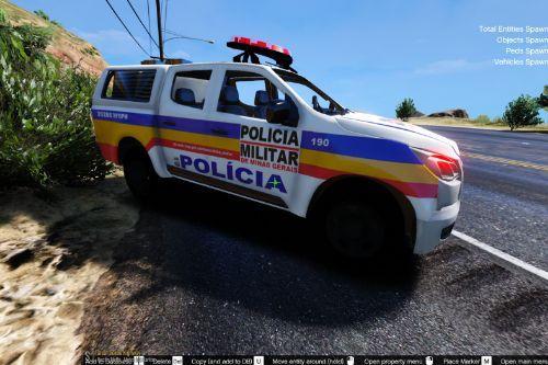 S-10 TÁTICO MÓVEL 2016 PMMG (MINAS GERAIS) BRAZILIAN POLICE