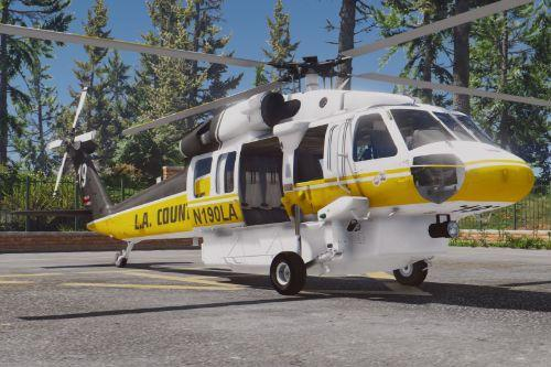 S-70A Firehawk Fire Fighting Helicopter [Add-On | Wipers]
