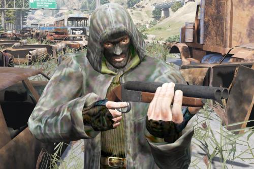 S.T.A.L.K.E.R. - Bandit Trenchcoat [Addon-Ped] | СТАЛКЕР - Кожаный плащ