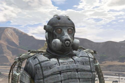 S.T.A.L.K.E.R. - Exoskeleton [Add-on Ped]
