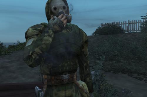 S.T.A.L.K.E.R. - Sunrise Suit (Gasmask) [Addon-Ped]