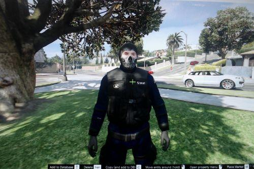 S.W.A.T ghost mask