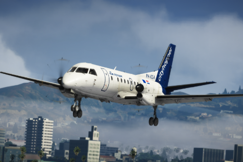 SAAB 340 [Add-On | Tuning I Liveries]