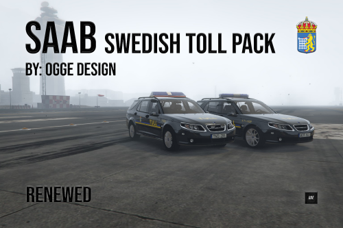 "Saab 95 ""Swedish Toll Pack"""