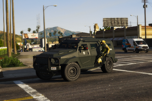 SAHP SWAT Insurgent [Add-On - Sound]