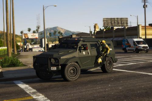 SAHP SWAT Insurgent [Add-On   Sounds]