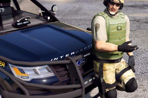 SAHP SWAT Ped Model