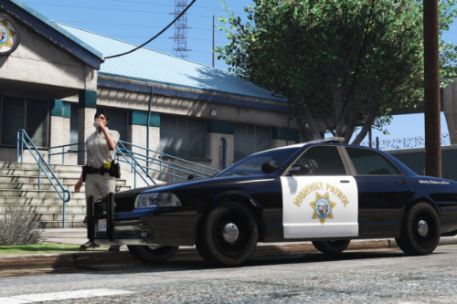 SAHP Vapid Police Cruiser (Stanier) [Add-On]