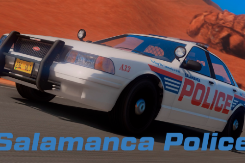 Salamanca Police Department Stanier [Add-On]