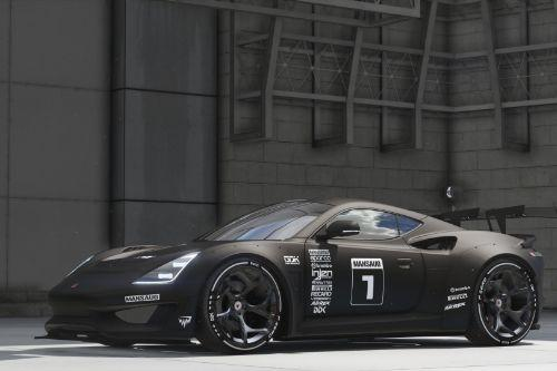 Saleen S1 Mansaug [Add-On / Replace | Template]