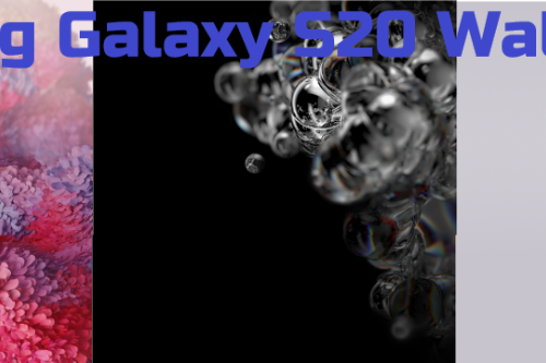 Samsung Galaxy S20 Wallpapers For Cellphone