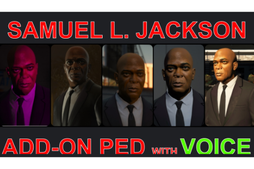 Samuel L. Jackson [Add-On Ped]
