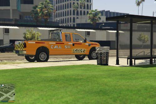 San Andreas Department of Transportation Ford F350