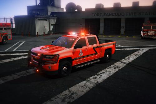San Andreas Fire Department [Chevrolet Silverado 1500FD]