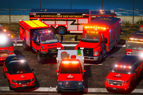 San Andreas Fire Department Pack