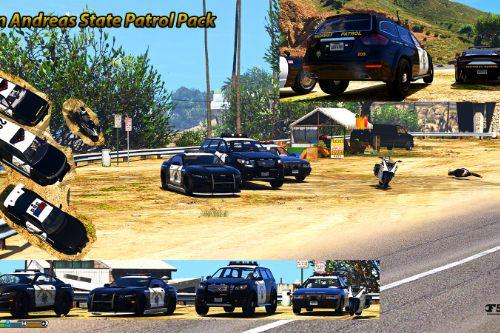 San Andreas Highway Patrol pack [Add-On / OIV | Sounds]