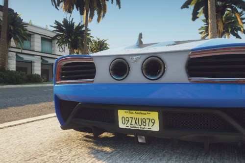 San Andreas License Plate Textures (New Jersey Based)