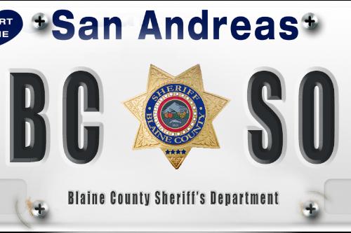 San Andreas License Plates