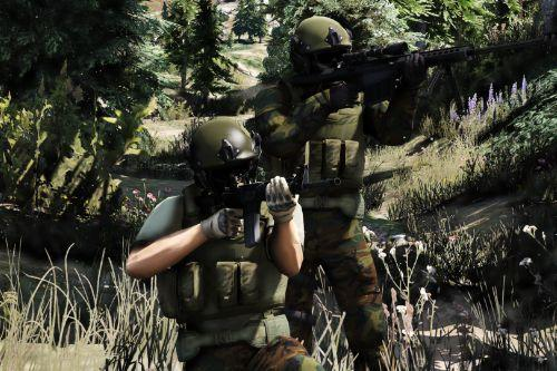 San Andreas armed forces ped