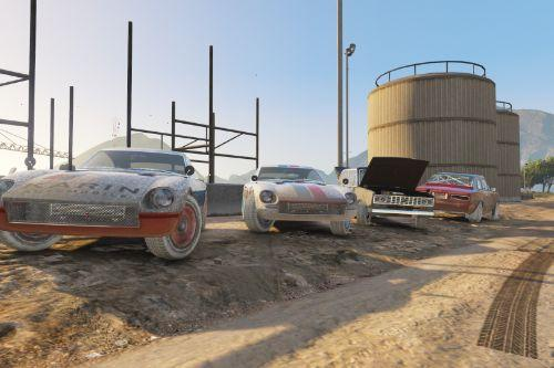 San Andreas Motorsport - Classic Rally Cars