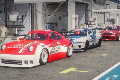 San Andreas Motorsport - Classic & Retro Race Cars [Menyoo]
