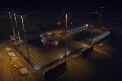 San Andreas Motorsport - Grapeseed Monster Truck Arena [Menyoo]