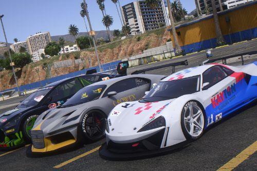 San Andreas Motorsport - Track Cars (Los Santos Tuners Update) [Menyoo]