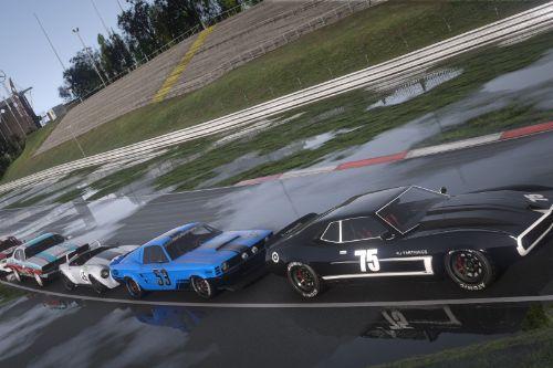 San Andreas Motorsport - Muscle Race Cars [Menyoo]