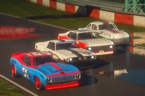 San Andreas Motorsport - Muscle Race Cars [Menyoo]