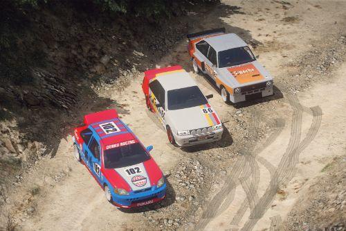 San Andreas Motorsport - Rally Cars [Menyoo]