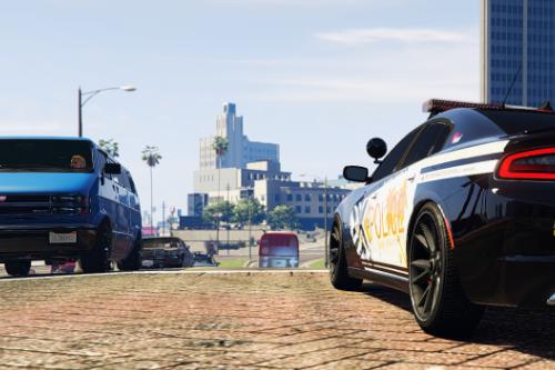 San Andreas Police 2015 Charger TEX