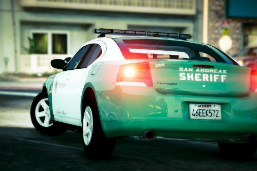 San Andreas Sheriff's Dodge Charger (2009 PPV)