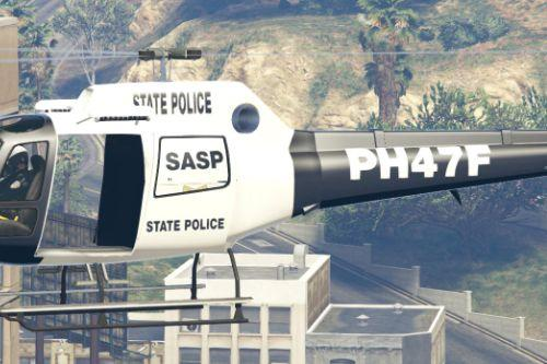 SASP San Andreas State Police Helicopter
