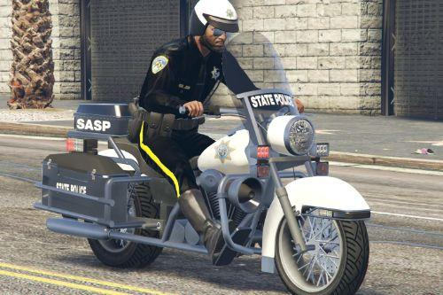 SASP San Andreas State Police Motorcycle Bike