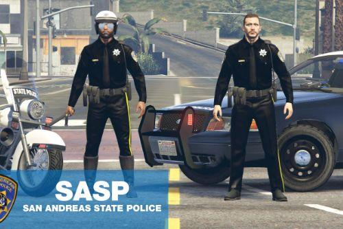 SASP San Andreas State Police Officer Trooper