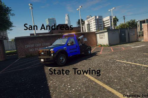 San Andreas State Towing [Livery]