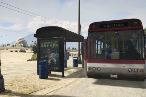Sandy Shores Bus Stops [YMAP]