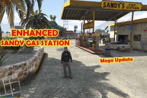 Sandy Gas Station Enhanced [MAP EDITOR]