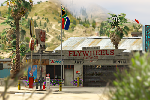 Sandy Shores Mechanic's Shop