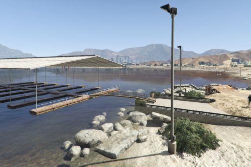 Sandy Shores 12 Boat Slip [YMAP] [Map Builder]