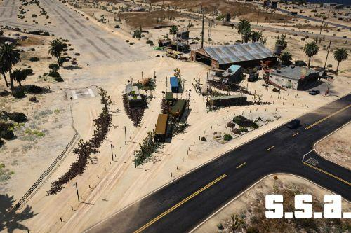Sandy Shores Airfield Improvement - S.S.A.I [Menyoo]