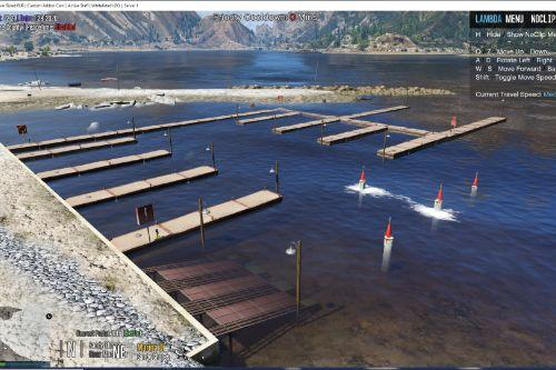 Sandy Shores Boat House Upgrade [SP Menyoo / FiveM]