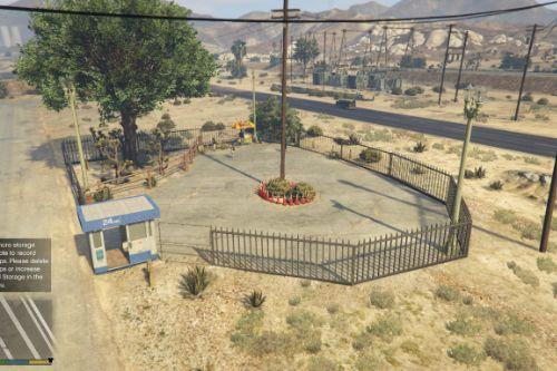 Sandy Shores Car Parking Lot [MapEditor, Ymap]