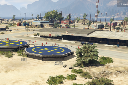 Sandy Shores County Sheriff Helipads (Fivem Ready)