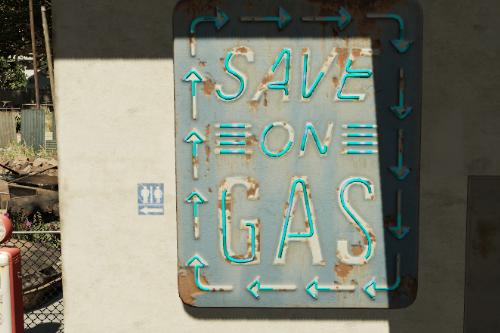 Sandy Shores Gas Station Upgrades [YMAP]