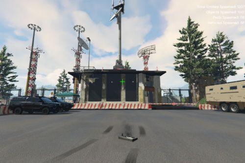 Sandy Shores military base [Menyoo]