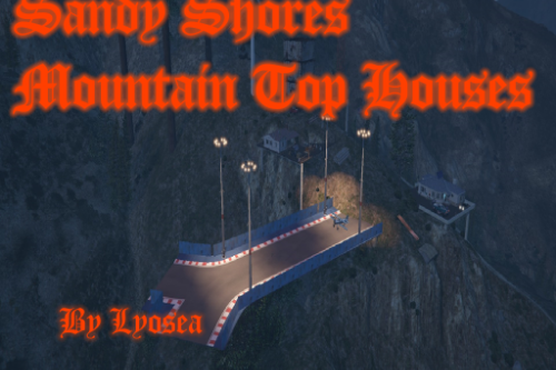 89bd1f sandy shores mountain top house promo art
